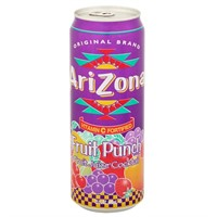 ARIZONA CAN FRUIT PUNCH - 24 st