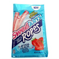 SWEETARTS TANGY STRAW. ROPES 85G
