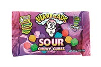 WARHEADS CHEWY CUBES - 15 st