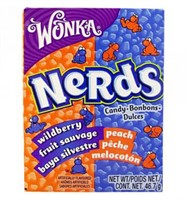 NERDS BON BON WILD BERRY FRUITS 46,7 g - 24 st