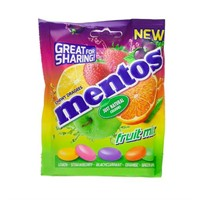 MENTOS FRUIT MIX BAG 140G