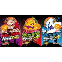 HALLOWEEN POPPING CANDY 3 PACK - 24 st