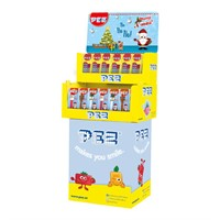 PEZ JUL DISPLAY - 120 st