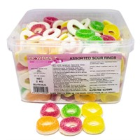 ASSORTED SOUR RINGS (HALAL)