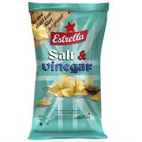 175G SALT & VINÄGER CHIPS - 21 st