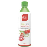 ALOES VERA STRAWBERRY  50 cl - 12 st