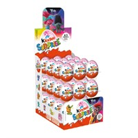KINDER SURPRISE ROSA 1-PACK (36st)