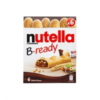 NUTELLA B-READY Obs! 6 pack *AA