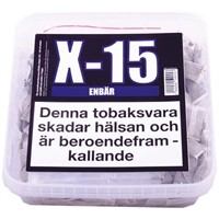 X-15 PORTION ENBÄR - 1 st