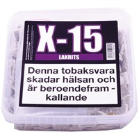 X-15 PORTION LAKRITS - 1 st