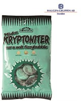 KRYPTONITER MJUKA FIZZY BUBBLE I PÅSE 60G - 20 st