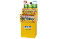 PEZ DISPLAY 48+72 DISPLAY - 120 st