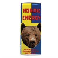 NORDIC ENERGY HIGH CAFFEINE 25 CL