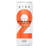 NORR BLOOD ORANGE KOLSYRAD 33CL