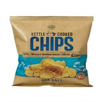 KETTLE COOKED SEASALT 15X150G