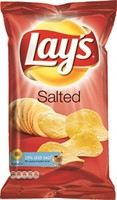 175G LAYS SALTED - 18 st