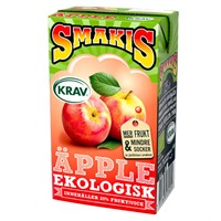 SMAKIS ÄPPLE KRAV BRICK 25CL - 27 st
