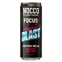NOCCO Focus 3 Raspberry Blast 33 CL